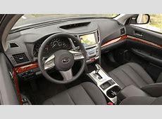 Interior del Subaru Outback 2011 Lista de Carros