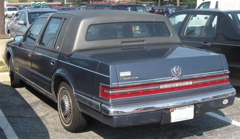 1993 Chrysler Imperial by 1993 Chrysler Imperial Information And Photos Zombiedrive