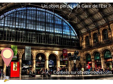 objet trouve  la gare de   paris comment signaler