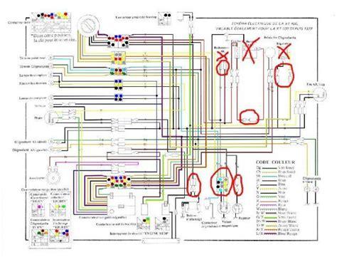 1983 yamaha virago 500 wiring diagram yamaha virago parts