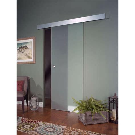 Barn Door Window by Opaque Glass Barn Door 32x80 Ebay