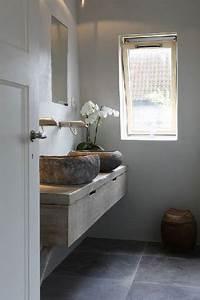 Plan De Toilette Bois : tendances d co 2018 salle de bain habitatpresto ~ Dailycaller-alerts.com Idées de Décoration