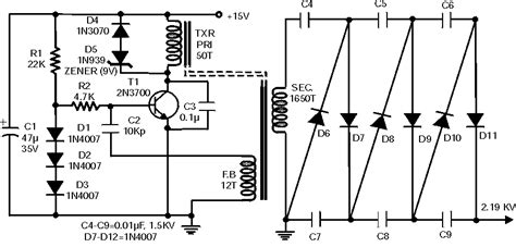 High Voltage Generator Circuit With