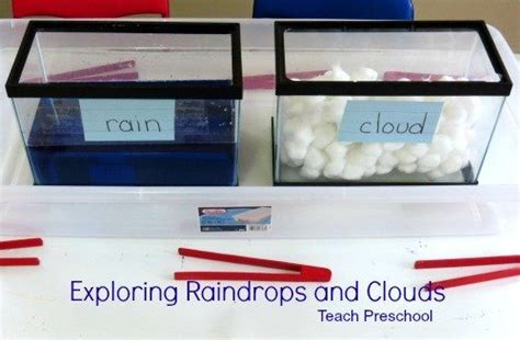 exploring raindrops and clouds in preschool teach preschool 380 | Exploring raindrops and clouds in preschool