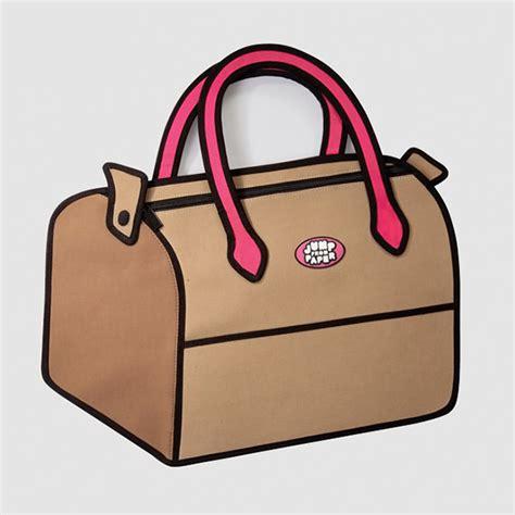 jumpfrompaper cartoon handbags