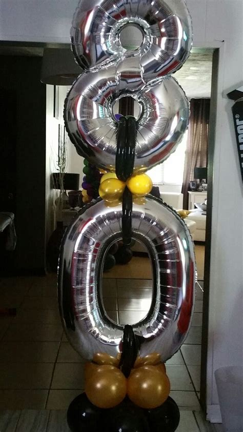 number decorations best 25 80th birthday decorations ideas on