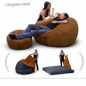 pin by angela chism broxterman on products i love pinterest With bean bag chair with bed inside
