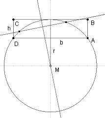 Kreisabschnitt Berechnen : mp forum radius berechnen matroids matheplanet ~ Themetempest.com Abrechnung