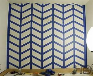 how to paint a chevron herringbone pattern quotpopular pins With chevron template for painting