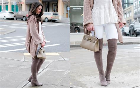 How To Wear Over The Knee Boots In The Spring
