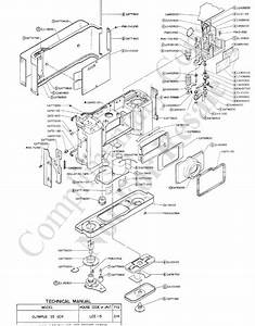 Olympus 35ecr Exploded Parts Diagram Service Manual