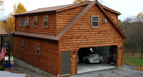 2 Story Garage Packages by How To Choose The Right Prefab Garages Theydesign Net