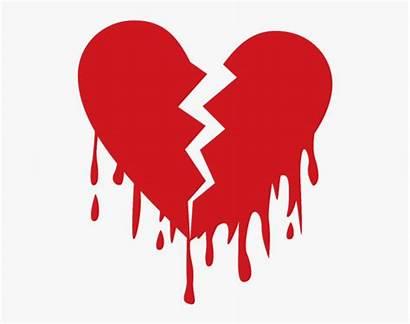 Broken Heart Emoji Sad Cliparts Transparent Crown
