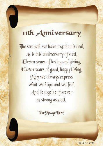 anniversary personalised poem gift print