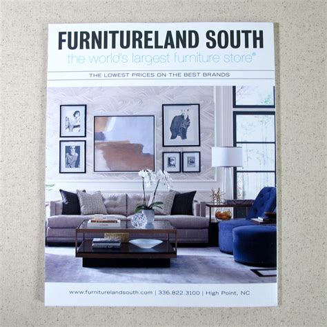 print advertising  furnitureland south  behance