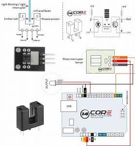 Arduino Infrared Sensor Wiring Diagram