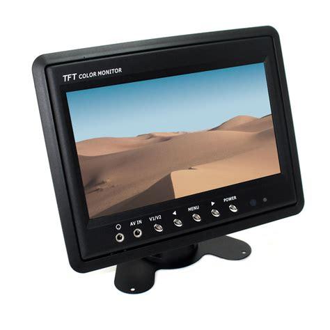 Piedistallo Monitor - 7 monitor tft auto veicoli camion con piedistallo telaio