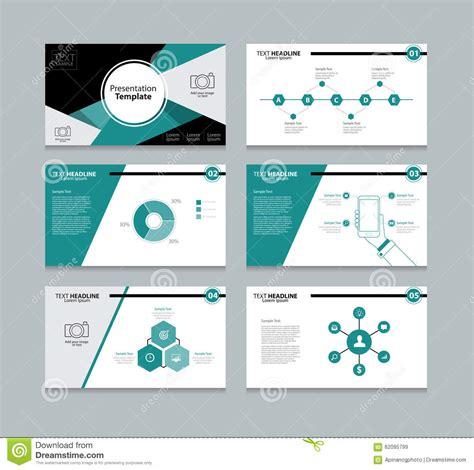 slide presentation template abstract vector template presentation slides background design stock vector illustration of