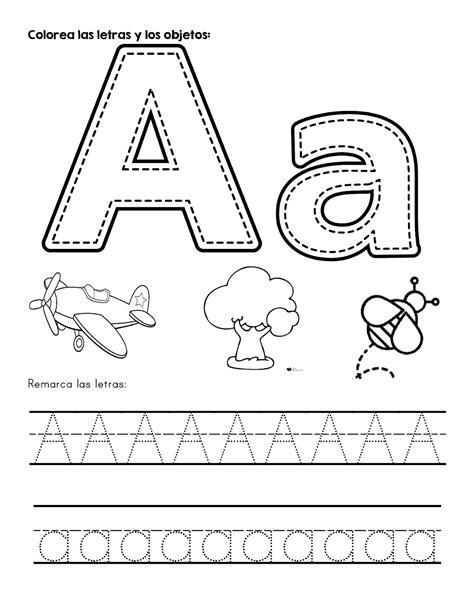 Abecedario para colorear Materiales Educativos para Maestras