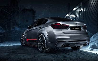 Bmw X6m Wallpapers F16 Winter Tuning Cars