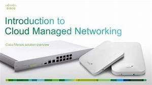 Cisco Meraki Cloud Networking