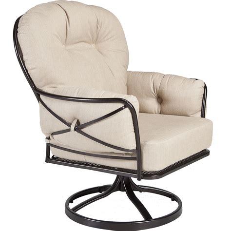 cambria swivel rocker lounge chair hauser s patio