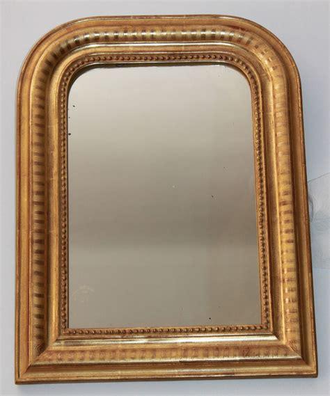 miroir louis philippe dor 233 224 la feuille d or