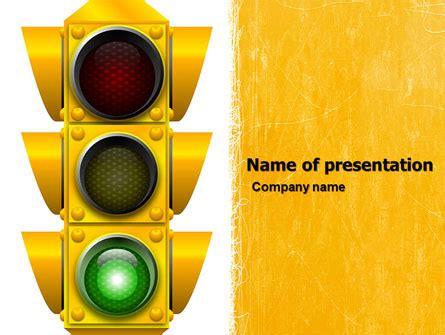 traffic light  template  powerpoint