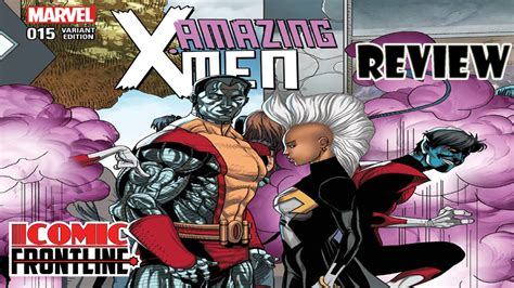 Amazing Xmen #15 Review  The Once And Future Juggernaut