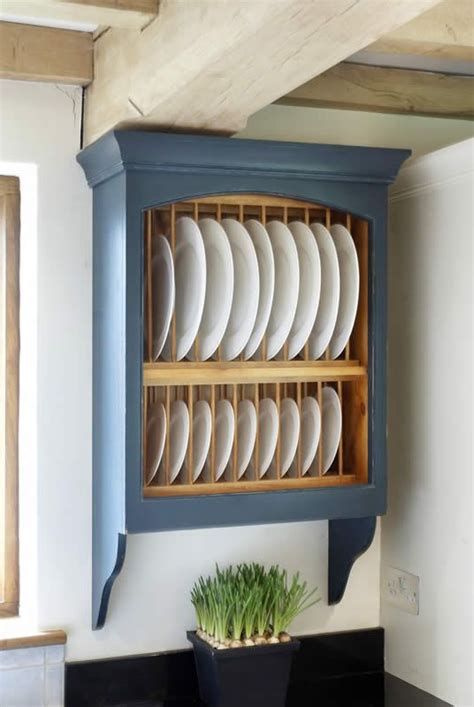 pin  woodwork kitchens   finishing touches kitchen rack dish racks plate racks