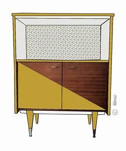 meubles vintage personnalises relooking de meubles With meuble vintage