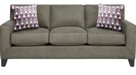 Patterned Sleeper Sofa by Sullivan Granite Gray Sleeper Sofa Contemporary