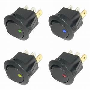 Ein Aus Schalter 220v : wippschalter rund ein aus 12v led beleuchtet 12 volt ~ Jslefanu.com Haus und Dekorationen