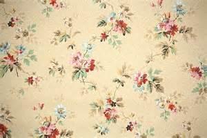 1940s Vintage Floral Wallpaper