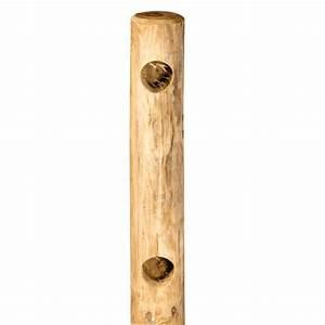 Support Poteau Bois Leroy Merlin : poteau bois rond ~ Dailycaller-alerts.com Idées de Décoration