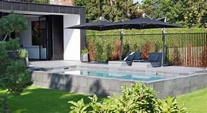 Piscines Semi Enterrées : piscine semi enterr e rectangulaire ~ Zukunftsfamilie.com Idées de Décoration