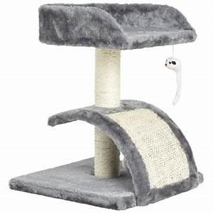 Arbre À Chat Pas Cher : arbre a chat rose et gris ~ Nature-et-papiers.com Idées de Décoration