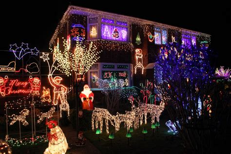 how to put christmas lights on house in pictures gloucester 39 s best christmas house has its