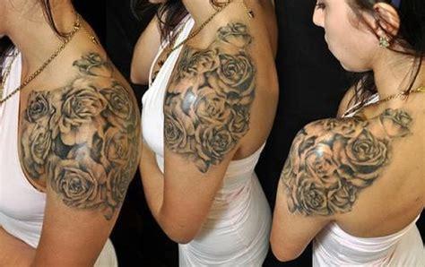 front shoulder tattoos  women  shoulder tattoos