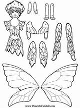 Puppet Coloring Paper Puppets Crafts Dolls Fairy Printable Craft Fairies Cut Template Pheemcfaddell Nights Five Master Doll Flicker Sheets Colouring sketch template