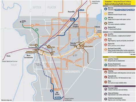 sacramento light rail map sacrt light rail extensions getting around sacramento