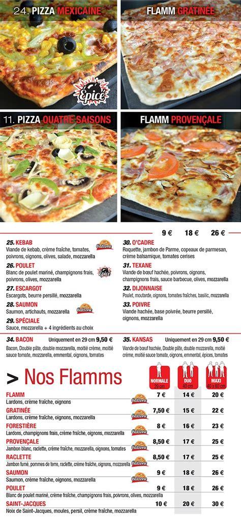 carte pizzeria forbach avold merlebach