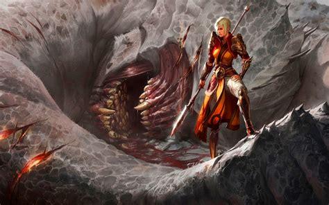 Diablo 3 Wallpaper Hd Fantasy War Hd Wallpapers