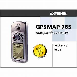 Garmin 76maps Quick Guide