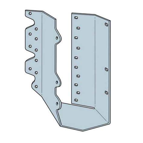 simpson hsurc46z 4x6 concealed flange joist hanger skewed