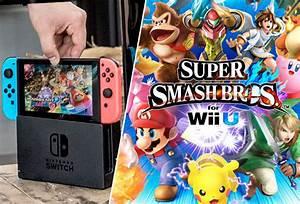 Nintendo Switch Super Smash Bros Reveal Trailer Has
