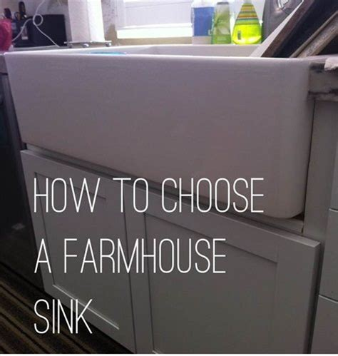 how to choose a kitchen sink how to choose a farmhouse sink things to consider 8531