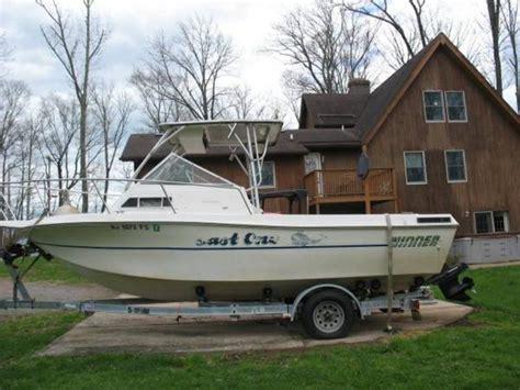 Proline Inboard Boats by 1992 Winner Walk Around Fishing Boat Powerboat For Sale In