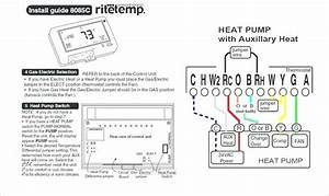 Wiring Diagram For Ritetemp Thermostat