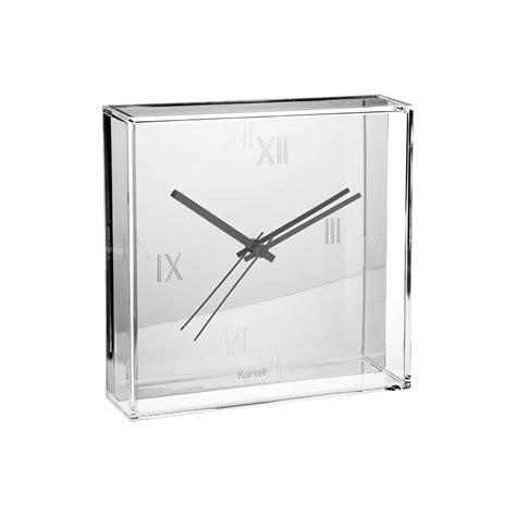 Lada Kartell Fly by Tic Tac Klocka Silver Philippe Starck Eugeni Quitllet